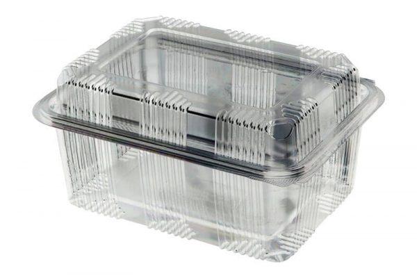 Transparentna ambalaža za hranu PET 2000 izdignuta