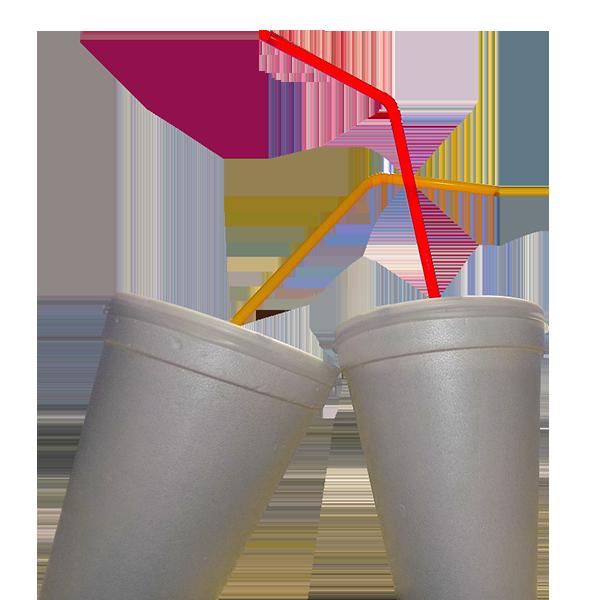 Čaše od stiropora