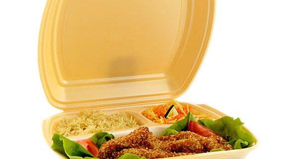 Ambalaža od stiropora sa poklopcem za hranu