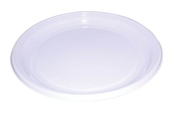 Plastični tanjiri za brzu hranu