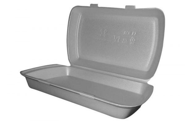 Stiroporska ambalaža za dostavu hrane HP12